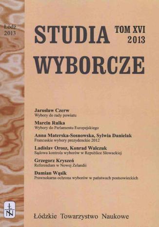 Studia Wyborcze t. 16