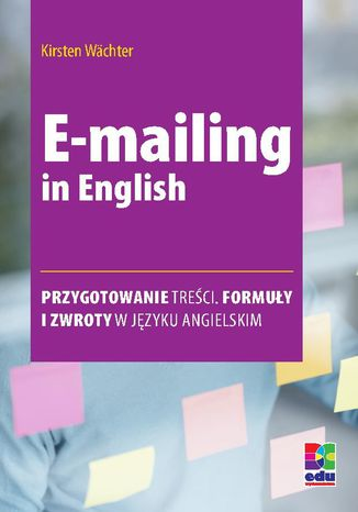 Okładka książki E-mailing in English