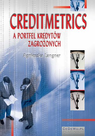 Okładka książki Creditmetrics a portfel kredytów zagrożonych