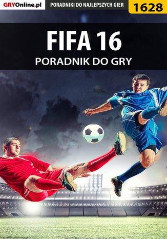 Okładka książki FIFA 16 - poradnik do gry