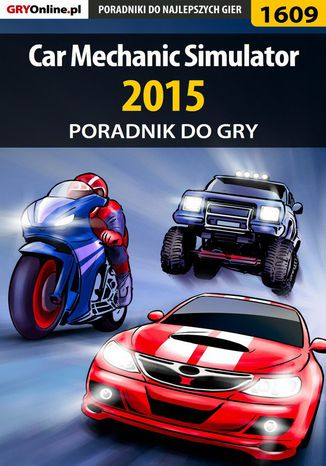 Okładka książki Car Mechanic Simulator 2015 - poradnik do gry