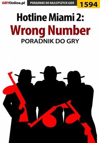 Okładka książki/ebooka Hotline Miami 2: Wrong Number - poradnik do gry