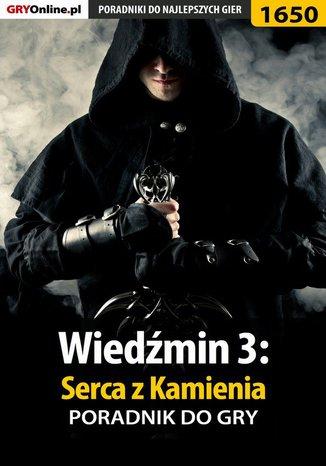 Okładka książki Wiedźmin 3: Serca z Kamienia - poradnik do gry