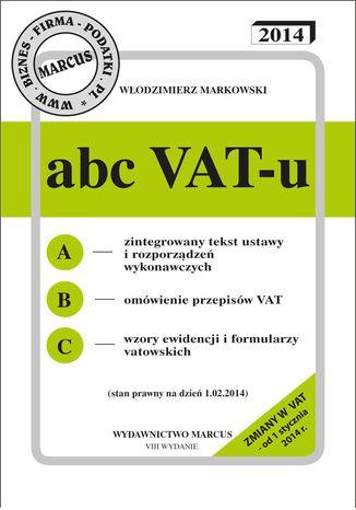 Okładka książki/ebooka ABC VAT-u 2014