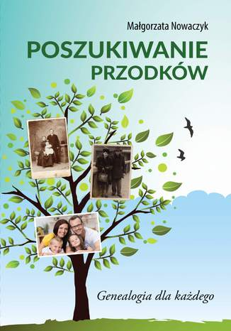 Okładka książki Poszukiwanie przodków. Genealogia dla każdego