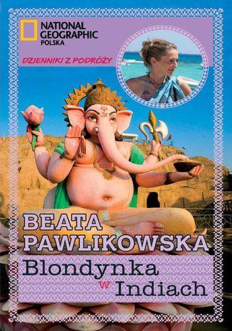 Okładka książki Blondynka w Indiach