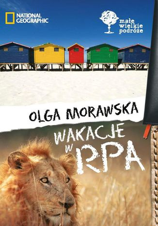 Okładka książki/ebooka Wakacje w RPA