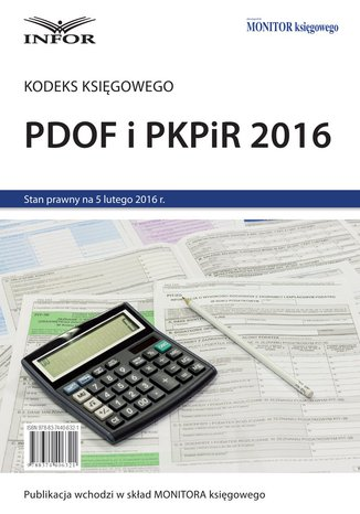 PDOF i PKPiR 2016