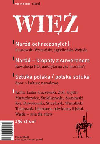 Okładka książki/ebooka Więź 1/2016