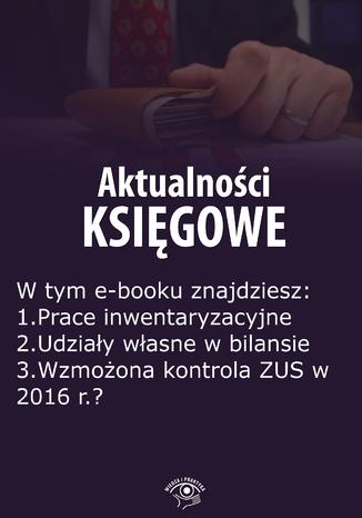 Okładka książki Aktualności księgowe, wydanie październik 2015 r.  część II