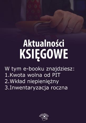Aktualności księgowe, wydanie grudzień 2015 r