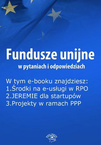Fundusze unijne w pytaniach i odpowiedziach, wydanie październik 2015 r