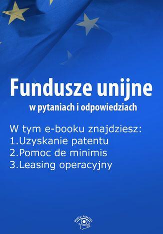 Fundusze unijne w pytaniach i odpowiedziach, wydanie listopad 2015 r
