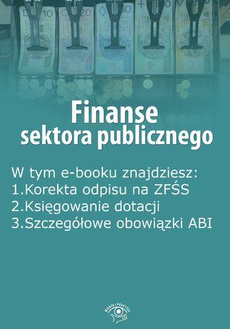 Finanse sektora publicznego, wydanie październik 2015 r