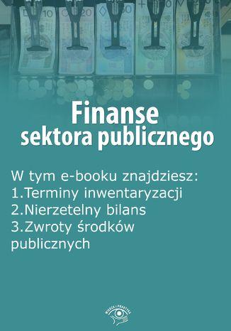 Finanse sektora publicznego, wydanie listopad 2015 r