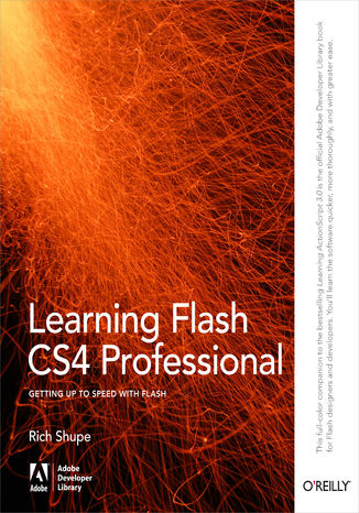 Okładka książki Learning Flash CS4 Professional. Getting Up to Speed with Flash