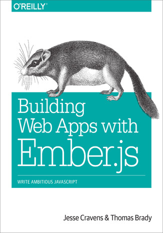Okładka książki/ebooka Building Web Apps with Ember.js