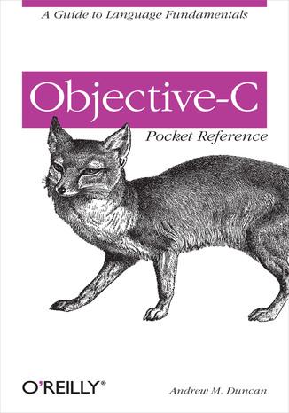 Okładka książki/ebooka Objective-C Pocket Reference