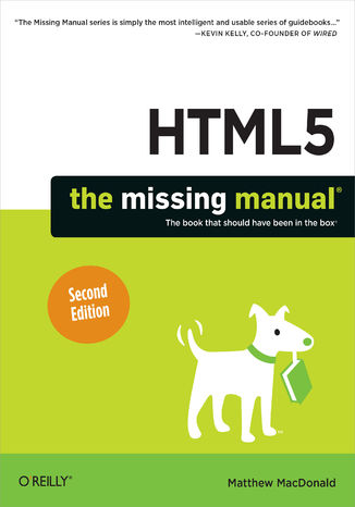 Okładka książki HTML5: The Missing Manual. 2nd Edition