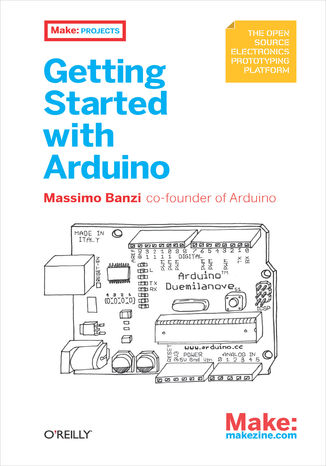 Okładka książki/ebooka Getting Started with Arduino
