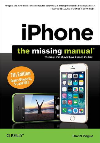 Okładka książki/ebooka iPhone: The Missing Manual. 7th Edition