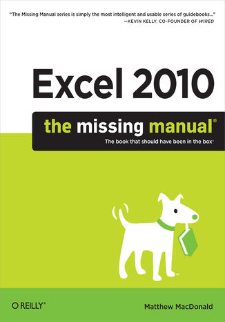 Okładka książki/ebooka Excel 2010: The Missing Manual