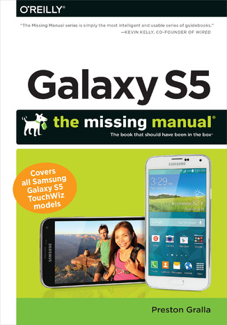 Okładka książki Galaxy S5: The Missing Manual