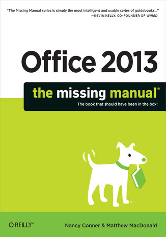 Okładka książki Office 2013: The Missing Manual