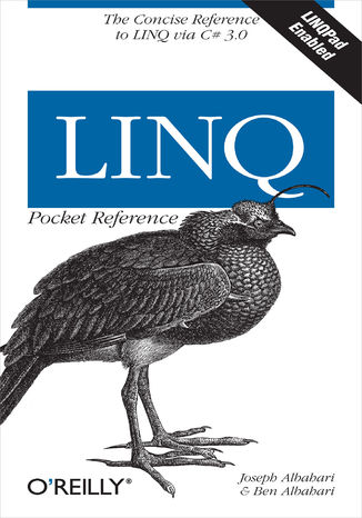 Okładka książki/ebooka LINQ Pocket Reference. Learn and Implement LINQ for .NET Applications