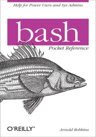 Okładka książki/ebooka bash Pocket Reference