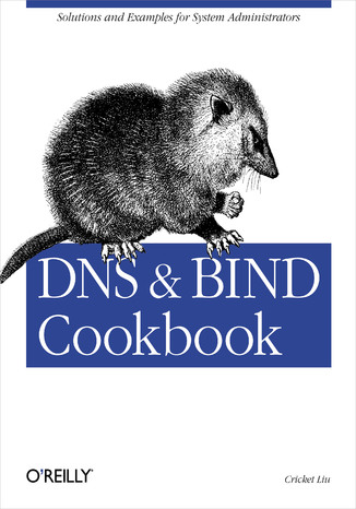 Okładka książki/ebooka DNS & Bind Cookbook