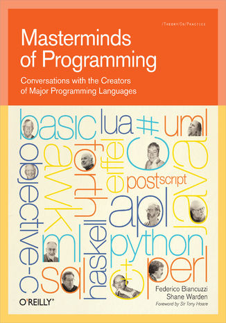 Okładka książki Masterminds of Programming. Conversations with the Creators of Major Programming Languages