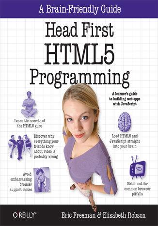 Okładka książki/ebooka Head First HTML5 Programming. Building Web Apps with JavaScript