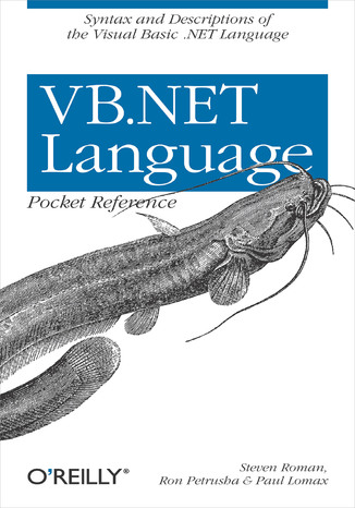 Okładka książki VB.NET Language Pocket Reference