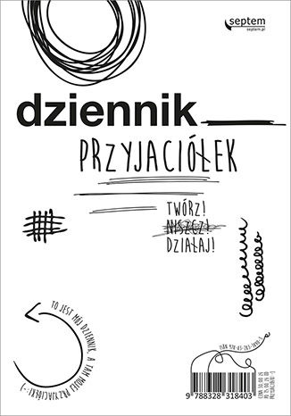 Okładka książki/ebooka Dziennik przyjaciółek. Twórz, niszcz, działaj!