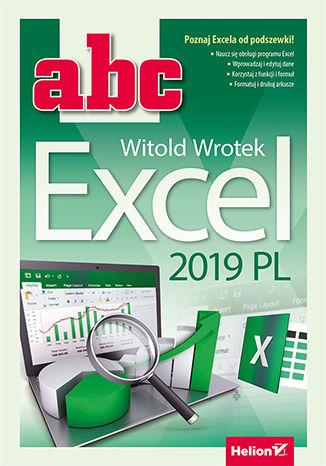 Okładka książki/ebooka ABC Excel 2019 PL
