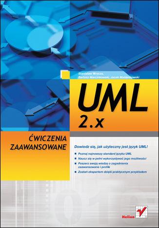 Okładka książki/ebooka UML 2.x. Ćwiczenia zaawansowane