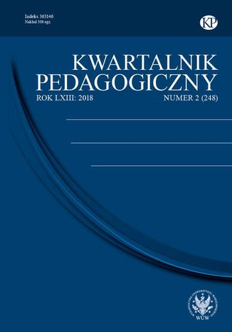 Okładka książki/ebooka Kwartalnik Pedagogiczny 2018/2 (248)