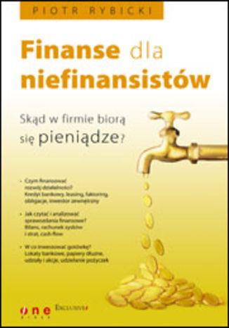 Okładka książki Finanse dla niefinansistów