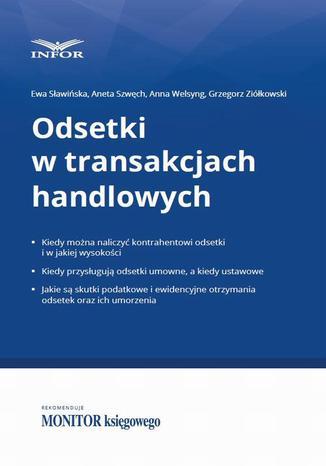 Okładka książki/ebooka Odsetki w transakcjach handlowych