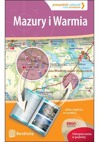 Okładka książki/ebooka Mazury i Warmia. Przewodnik - Celownik. Wydanie 1
