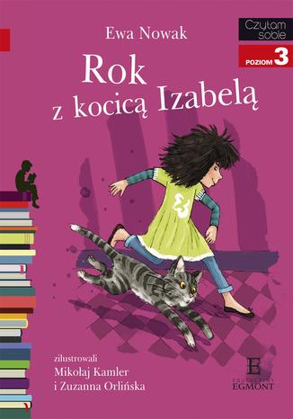 Okładka książki/ebooka Rok z kocicą Izabelą