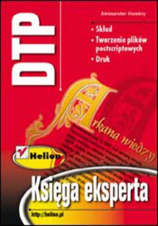 Okładka książki/ebooka DTP. Księga eksperta