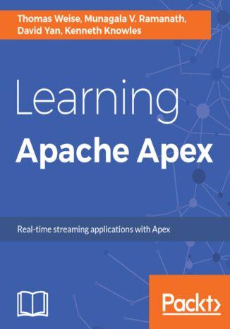 Okładka książki/ebooka Learning Apache Apex