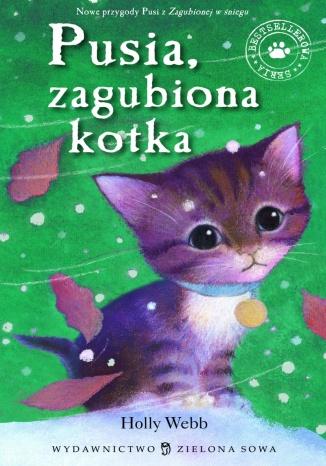 Okładka książki/ebooka Pusia zagubiona kotka