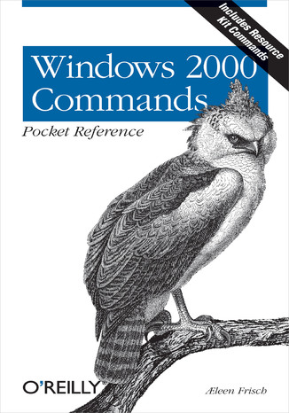 Okładka książki/ebooka Windows 2000 Commands Pocket Reference