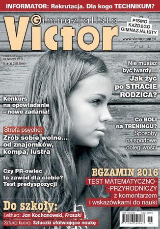 Okładka książki/ebooka Victor Gimnazjalista nr 5 (411)