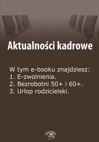 Okładka książki/ebooka Aktualności kadrowe, wydanie lipiec 2014 r