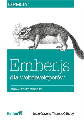 Okładka książki/ebooka Ember.js dla webdeveloperów