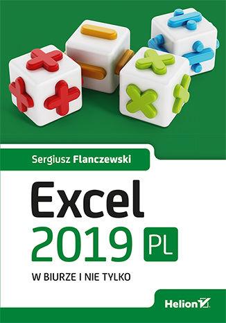 Okładka książki Excel 2019 PL w biurze i nie tylko